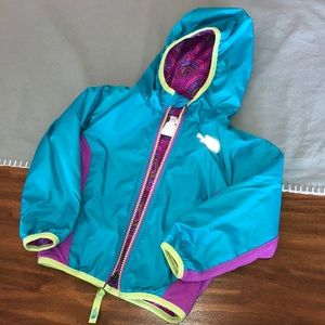 Guc the north face reversible jacket